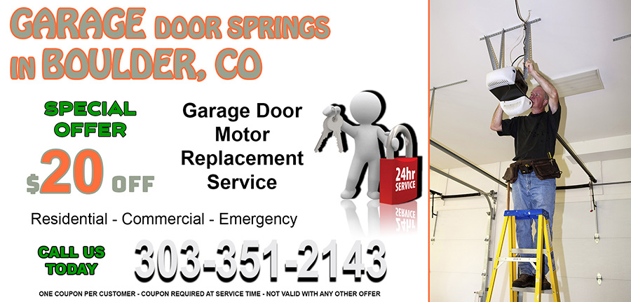 Garage Door Springs 80302